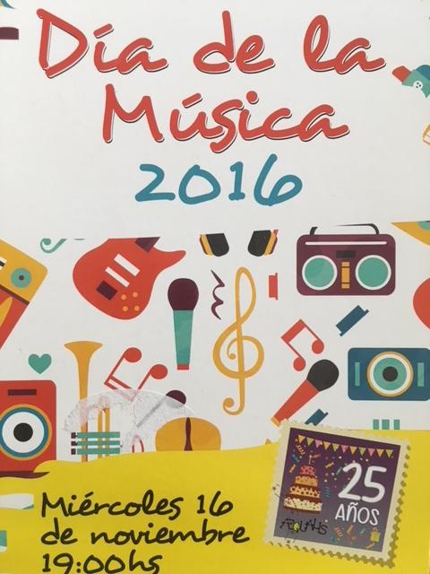 Día de la música 2016