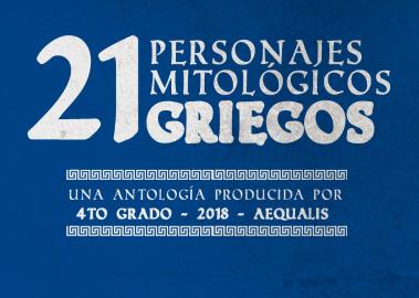 "4to grado presenta: ""Personajes mitológicos Griegos"""